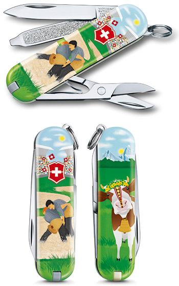 Victorinox Classic Limited Edition 2020 Swiss Wrestling