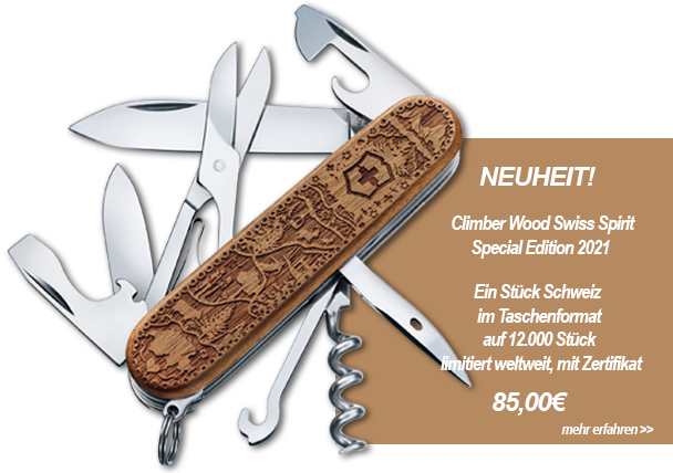 Victorinox Climber Wood Swiss Spirit Special Edition 2021