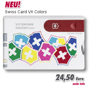 Victorinox Swiss Card VX Colors
